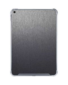Brushed Steel Texture iPad 10.2in (2019-20) Clear Case