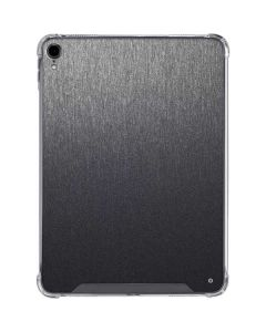 Brushed Steel Texture iPad Pro 11in (2018-19) Clear Case