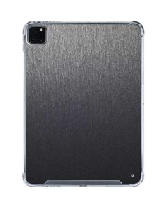 Brushed Steel Texture iPad Pro 11in (2020) Clear Case