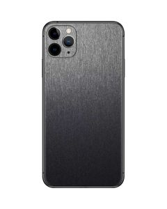 Brushed Steel Texture iPhone 11 Pro Max Skin