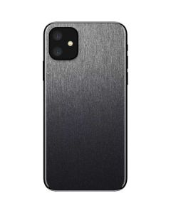 Brushed Steel Texture iPhone 11 Skin