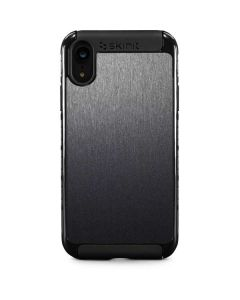 Brushed Steel Texture iPhone XR Cargo Case