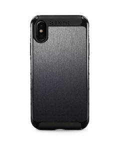 Brushed Steel Texture iPhone XS Cargo Case