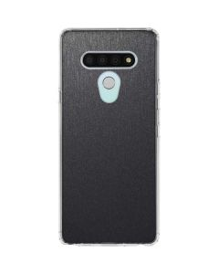 Brushed Steel Texture LG Stylo 6 Clear Case
