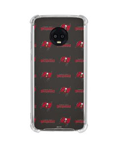 Tampa Bay Buccaneers Blitz Series Moto G6 Clear Case