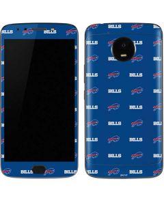 Buffalo Bills Blitz Series Moto E4 Plus Skin