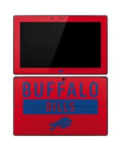 Buffalo Bills Red Performance Series Surface RT Skin