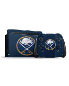 Buffalo Sabres Distressed Nintendo Switch Bundle Skin