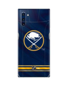 Buffalo Sabres Home Jersey Galaxy Note 10 Skin