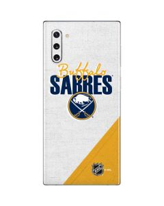 Buffalo Sabres Script Galaxy Note 10 Skin