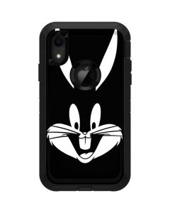 Bugs Bunny Plain Black and White Otterbox Defender iPhone Skin