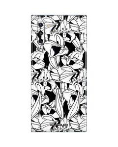 Bugs Bunny Super Sized Pattern Galaxy Note 10 Skin