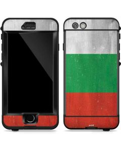 Bulgarian Flag Distressed LifeProof Nuud iPhone Skin