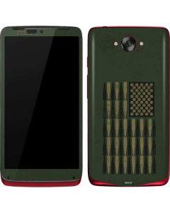 Bullet American Flag Motorola Droid Skin