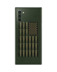 Bullet American Flag Galaxy Note 10 Skin