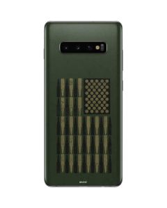 Bullet American Flag Galaxy S10 Plus Skin