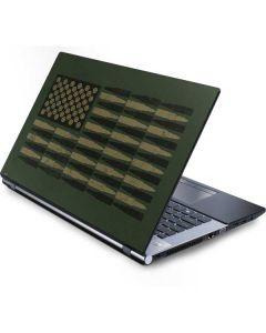 Bullet American Flag Generic Laptop Skin
