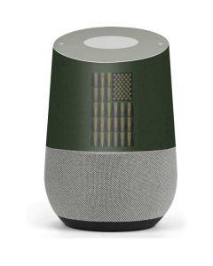 Bullet American Flag Google Home Skin