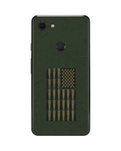 Bullet American Flag Google Pixel 3 XL Skin