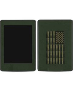 Bullet American Flag Amazon Kindle Skin