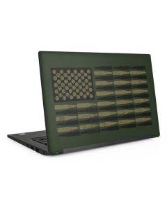 Bullet American Flag Dell Latitude Skin