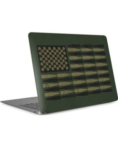 Bullet American Flag Apple MacBook Air Skin