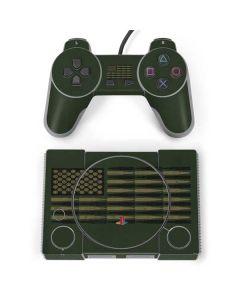 Bullet American Flag PlayStation Classic Bundle Skin