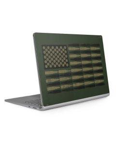 Bullet American Flag Surface Book 2 15in Skin