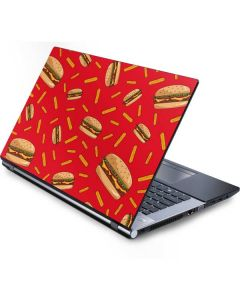 Burgers and Fries Generic Laptop Skin