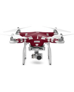 Burgundy DJI Phantom 3 Skin