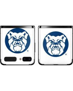 Butler Bulldog Logo Galaxy Z Flip Skin