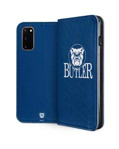 Butler Bulldogs Galaxy S20 Folio Case