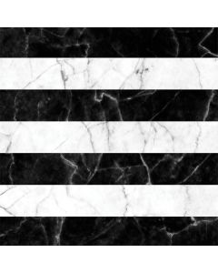 Black and White Striped Marble LifeProof Nuud iPhone Skin