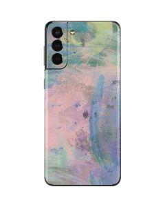 Rose Quartz & Serenity Abstract Galaxy S21 Plus 5G Skin