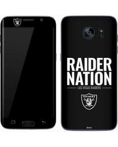 Las Vegas Raiders Team Motto Galaxy S7 Skin