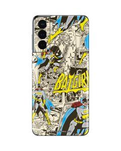 Batgirl All Over Print Galaxy S21 5G Skin
