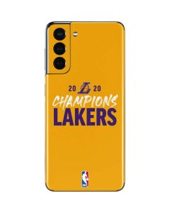 2020 Champions Lakers Galaxy S21 5G Skin