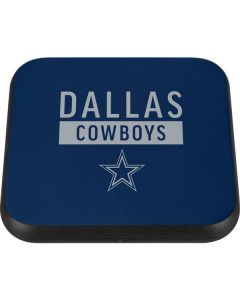 Dallas Cowboys Blue Performance Series Wireless Charger Single Skin
