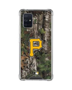 Pittsburgh Pirates Realtree Xtra Green Camo Galaxy A71 5G Clear Case