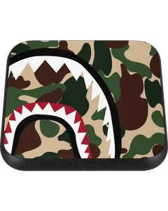 Shark Teeth Street Camo Wireless Charger Single Skin