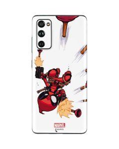 Deadpool Baby Fire Galaxy S20 Fan Edition Skin