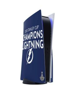 2020 Stanley Cup Champions Lightning PS5 Console Skin
