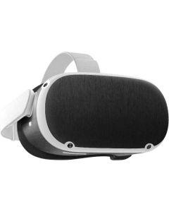 Black Brushed Steel Texture Oculus Quest 2 Skin