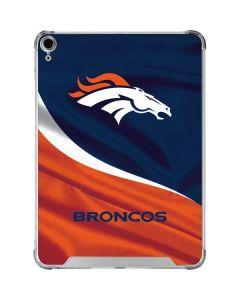 Denver Broncos iPad Air 10.9in (2020) Clear Case