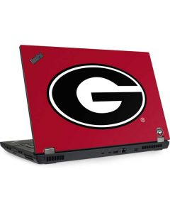 University of Georgia Logo Red Lenovo ThinkPad Skin