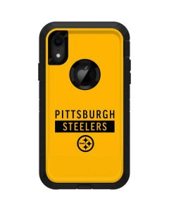 Pittsburgh Steelers Yellow Performance Series Otterbox Defender iPhone Skin