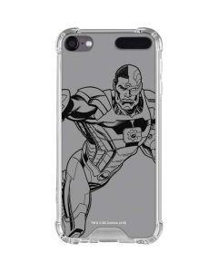 Cyborg Comic Pop iPod Touch (5th-6th-7th Gen) Clear Case
