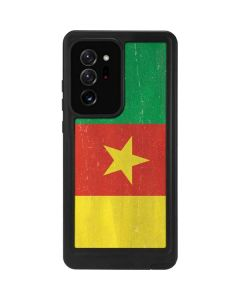Cameroon Flag Distressed Galaxy Note20 Ultra 5G Waterproof Case