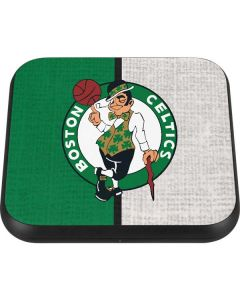 Boston Celtics Canvas Wireless Charger Single Skin