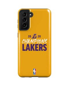 2020 Champions Lakers Galaxy S21 Plus 5G Case